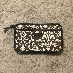 Thirty-One Brown Cosmetic Case